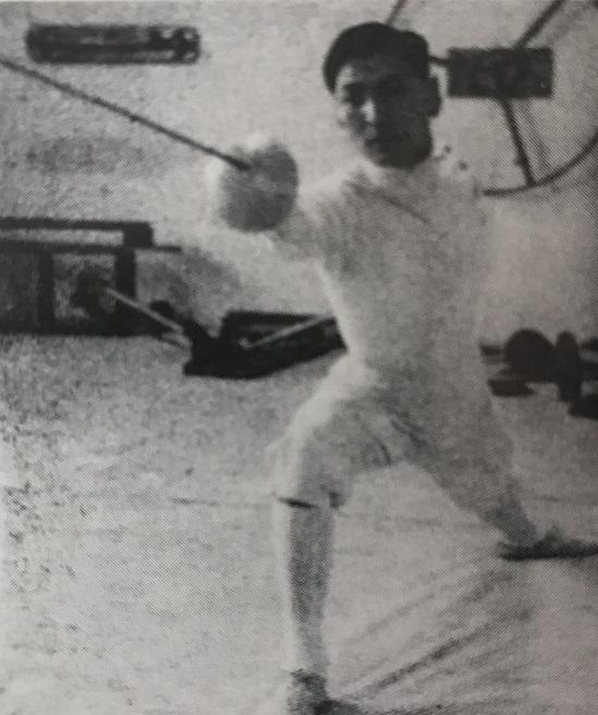 1955年、本道博ユニバーシアード・スペイン大会に出場
