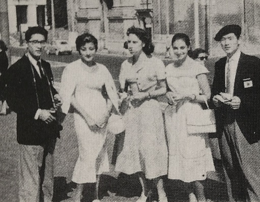 1957年、川名宏美、成瀬正澄ユニバーシアード・パリ大会に出場