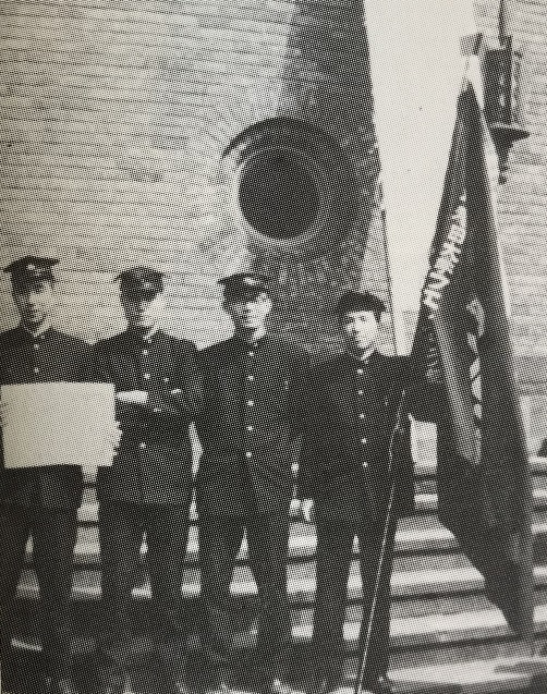 1965年、体育局表彰を受ける