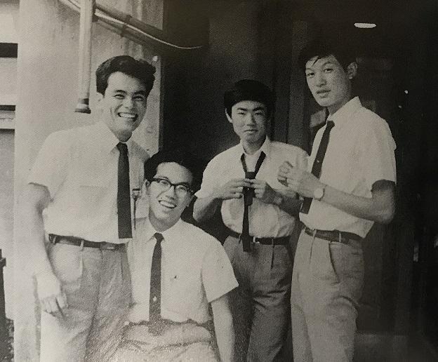 1967年、ユニバーシアード東京大会役員の4年生