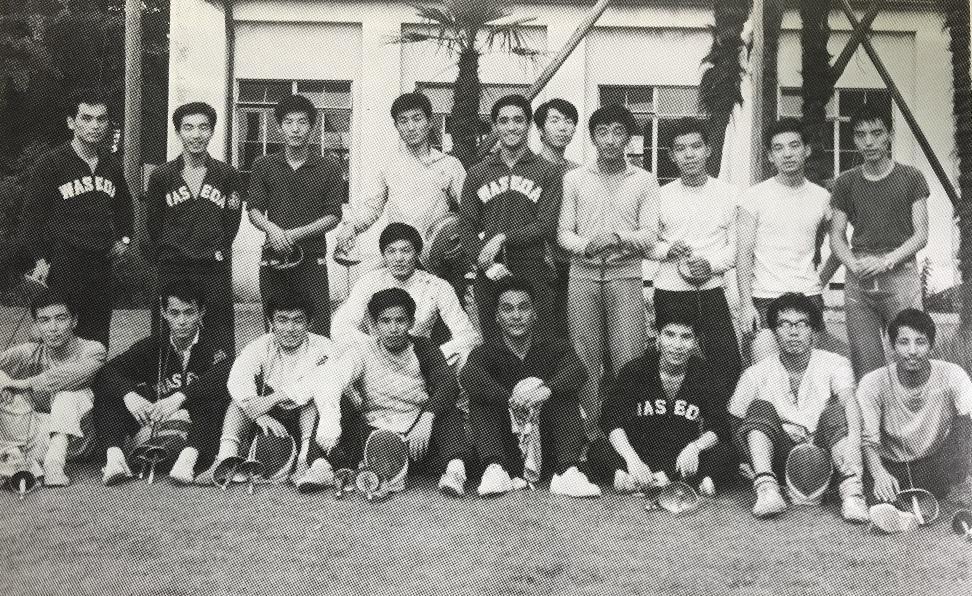 1967年、高田市での夏合宿