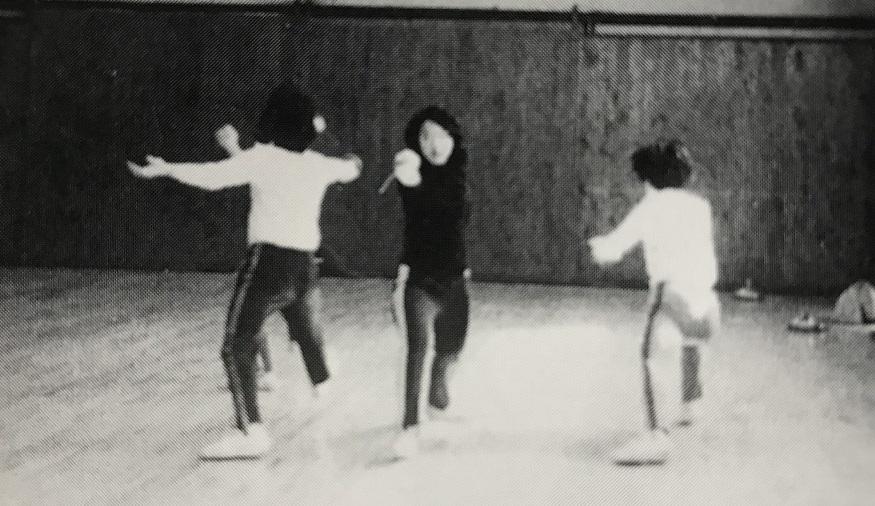 1976年の夏合宿では、1000本ファンデブーに挑戦
