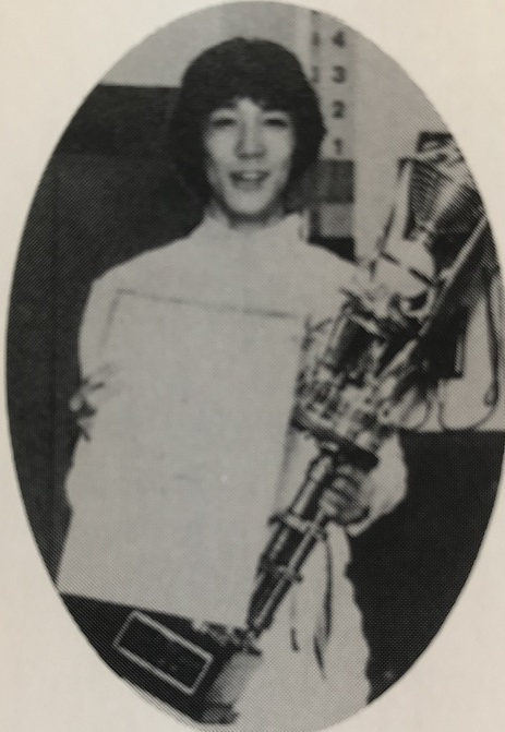 1981年インカレ・エペ個人で遠藤聡一が優勝