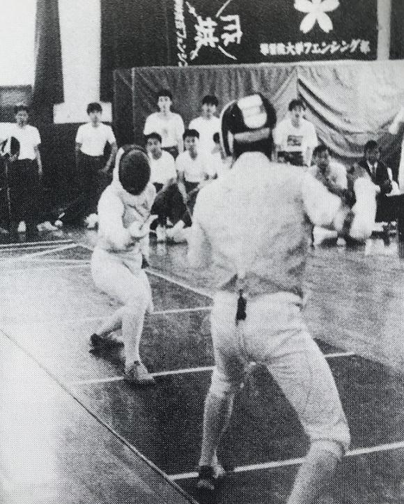 1992リーグ戦・フルーレ左・土屋