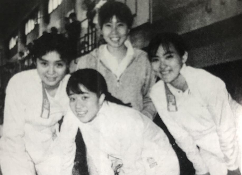 1994年、2部昇格を果たした主要メンバー