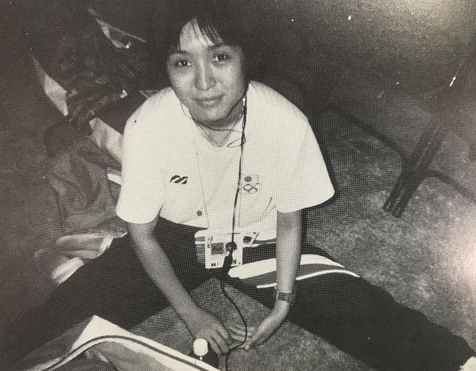 1996アトランタ出場の田中奈々絵