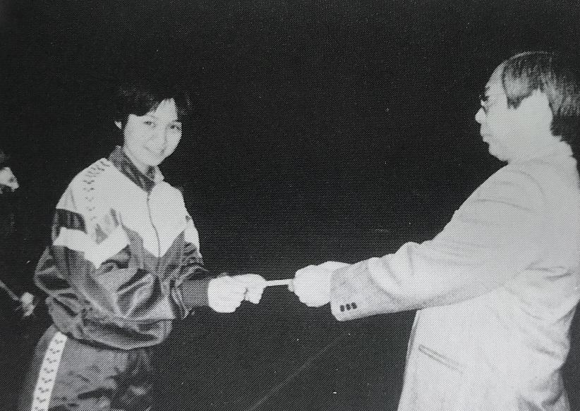 1996五輪出場で田中奈々絵表彰