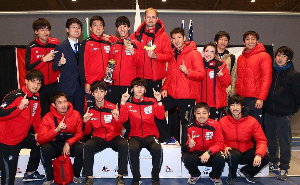 2019年、ワールドカップ・バンクーバー大会、日本チームのスナップ
